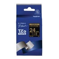 【ブラザー】 文字テープ TZe-354黒に金文字 24mm★お得な10個パック