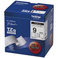 【ブラザー】 文字テープ TZe-325黒に白文字 9mm★お得な10個パック