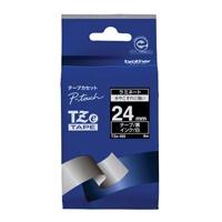 【ブラザー】 文字テープ TZe-355黒に白文字 24mm★お得な10個パック