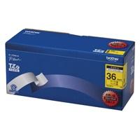 【ブラザー】 文字テープ TZe-661V黄に黒文字 36mm 5個★お得な10個パック