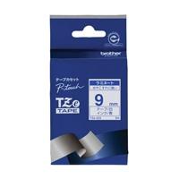 【ブラザー】 文字テープ TZe-223白に青文字 9mm★お得な10個パック
