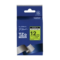 【ブラザー】 文字テープ TZe-C31蛍光黄に黒文字 12mm★お得な10個パック