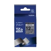 【ブラザー】 文字テープ TZe-M931銀に黒文字 12mm★お得な10個パック