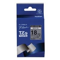 【ブラザー】 文字テープ TZe-M941銀に黒文字 18mm★お得な10個パック