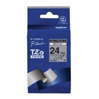 【ブラザー】 文字テープ TZe-M951銀に黒文字 24mm★お得な10個パック