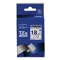 【ブラザー】 布テープ TZe-FA4白に青文字 18mm★お得な10個パック