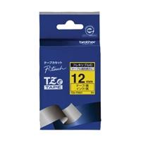 【ブラザー】 フレキシブルIDテープTZe-FX631黄に黒文字★お得な10個パック