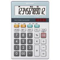 【シャープエレクトロニクスマーケティング】 環境配慮電卓 ミニナイスサイズ EL-M712K★お得な10個パック