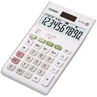 【カシオ計算機】 W税率電卓ジャストサイズ10桁JW-100T-N★お得な10個パック