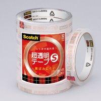 【スリーエムジャパン】 超透明テープS BK-12N 工業用包装 300巻★ポイント10倍★