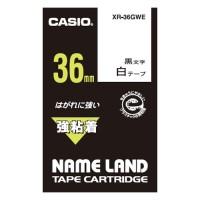 【カシオ計算機】 強粘着テープ XR-36GWE★お得な10個パック