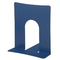 プラス ブックエンド BS102BL 幅広タイプ 青 10組★お得な10個パック