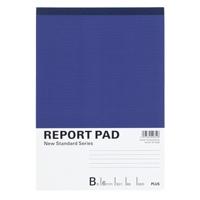 【プラス】 レポートパッド RE-050B B5 B罫10冊 ★お得な10個パック