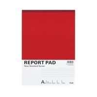プラス レポートパッド RE-250A A4 A罫 10冊★お得な10個パック