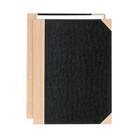 【プラス】 とじ込み表紙 FL-003TU B4S 4穴 5組 ★お得な10個パック