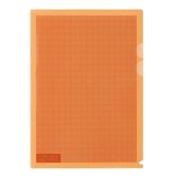 プラス カモフラージュホルダー A4 橙 100冊★お得な10個パック