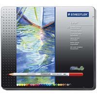 【ステッドラー】 カラト水彩色鉛筆 125M24 24色 ★お得な10個パック