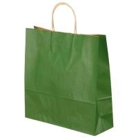 【ベルベ】 手提袋 T-6 1664 緑 50枚 ★お得な10個パック
