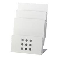【トヨダプロダクツ】 パンフレットスタンド PSR-3 A4-3段 ★お得な10個パック