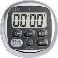 【エーアンドデイ】 デジタル防滴タイマー AD-5705BK ★お得な10個パック