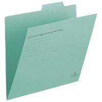 プラス 個別フォルダー FL-001IF A4E 緑 100枚★お得な10個パック