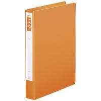 スマートバリュー リング式ファイル D030J-OR10 オレンジ10冊★お得な10個パック