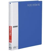 【ハクバ写真産業】 フォトシステムファイル ブルー520712 ★お得な10個パック