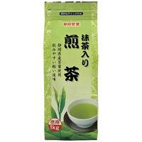 【朝日茶業】 朝日茶業 徳用抹茶入り煎茶1kg ★お得な10個パック