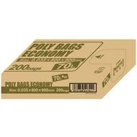 【オルディ】 ポリ袋エコBOX70L乳白半透明PBE-W70-200 ★お得な10個パック