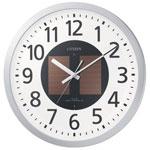 【リズム時計】 シチズン電波掛時計 4MY815-019 ★お得な10個パック■代引き決済不可■平日配送のみ可■時間帯指定不可■