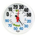 【エンペックス】 温湿度計 ルシード TM-2671K ホワイト ★お得な10個パック■代引き決済不可■平日配送のみ可■時間帯指定不可■