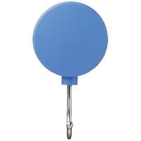 スマートバリュー マグネットフックミニ可動3kg青5個B345J-B5★お得な10個パック