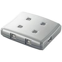 【エレコム】 USB切替器4切替 USS2-W4 ★お得な10個パック