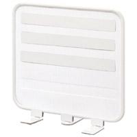 【LIHITLAB】 ライトデスクトップパネル A-7380-0 白 ★お得な10個パック