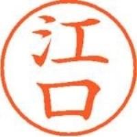 【シヤチハタ】 ネーム9既製 XL-9 0419 江口 ★お得な10個パック