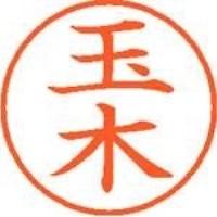 【シヤチハタ】 ネーム9既製 XL-9 1443 玉木 ★お得な10個パック