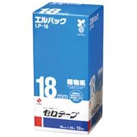 【ニチバン】 セロテープ Lパック LP-18 18mm×35m 12巻 ★お得な10個パック