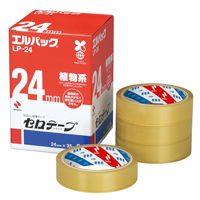 【ニチバン】 セロテープ Lパック LP-24 24mm×35m 6巻 ★お得な10個パック