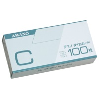 【アマノ】 標準タイムカードC 100枚入 ★お得な10個パック