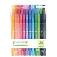 【トンボ鉛筆】 プレイカラーK 36色セット GCF-013 ★お得な10個パック