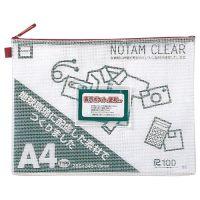 サクラクレパス ノータムクリアA4 レッド UNC-A4#19 15枚★お得な10個パック