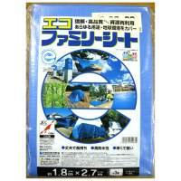 【萩原工業】 エコファミリーシート#3000 1.8m×2.7m ★お得な10個パック