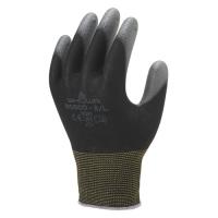 【ショーワグローブ】 パームフィット手袋B0500ブラック L 10双 ★お得な10個パック