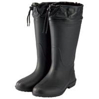 【ミタニコーポレーション】 軽量長靴ホッパー01 LL ブラック 214147 ★お得な10個パック