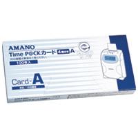 【アマノ】 タイムパックカード(4欄印字)A ★お得な10個パック