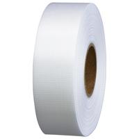 スマートバリュー カラーリボン白 24mm*25m 10個 B824J-WH10★お得な10個パック