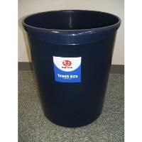 【ジョインテックス】 持ち手付きゴミ箱丸型18.3Lブルー N153J-B5 ★お得な10個パック