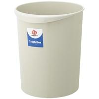 【ジョインテックス】 持ち手付きゴミ箱丸型18.3Lグレー N153J-G5 ★お得な10個パック