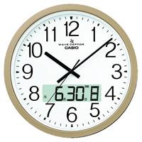【カシオ計算機】 カシオ電波掛時計 IC-4100J-9JF ★お得な10個パック■代引き決済不可■平日配送のみ可■時間帯指定不可■