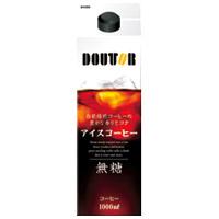 【ドトールコーヒー】 ドトールアイスコーヒー無糖 1000ml×6本 ★お得な10個パック